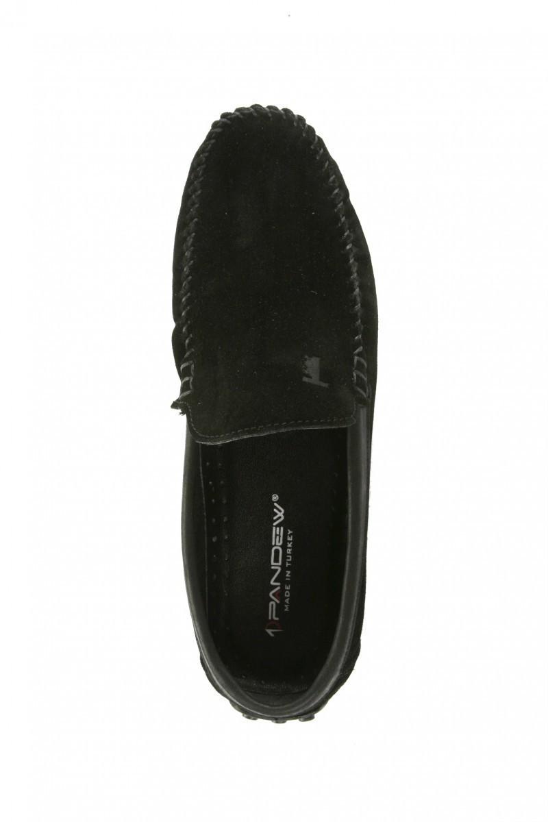 Pandew Siyah PNDW-FR-SUET Hakiki Deri Erkek Ayakkabı