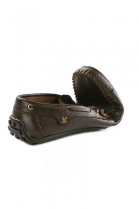 Pandew Kahverengi PNDW-FR-BAG Hakiki Deri Erkek Ayakkabı
