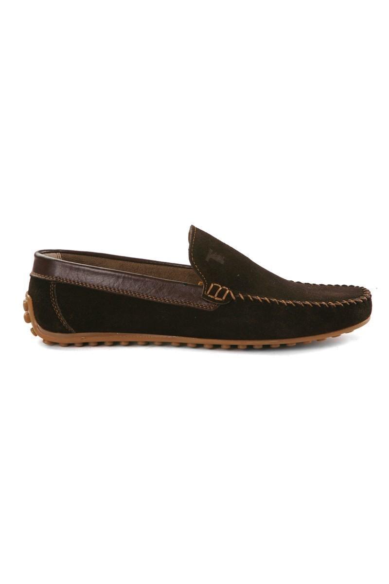Pandew Kahverengi PNDW-FR-SUET Hakiki Deri Erkek Ayakkabı