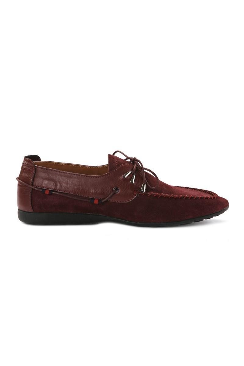 Pandew Bordo PNDW-SY-700 Hakiki Deri Erkek Ayakkabı