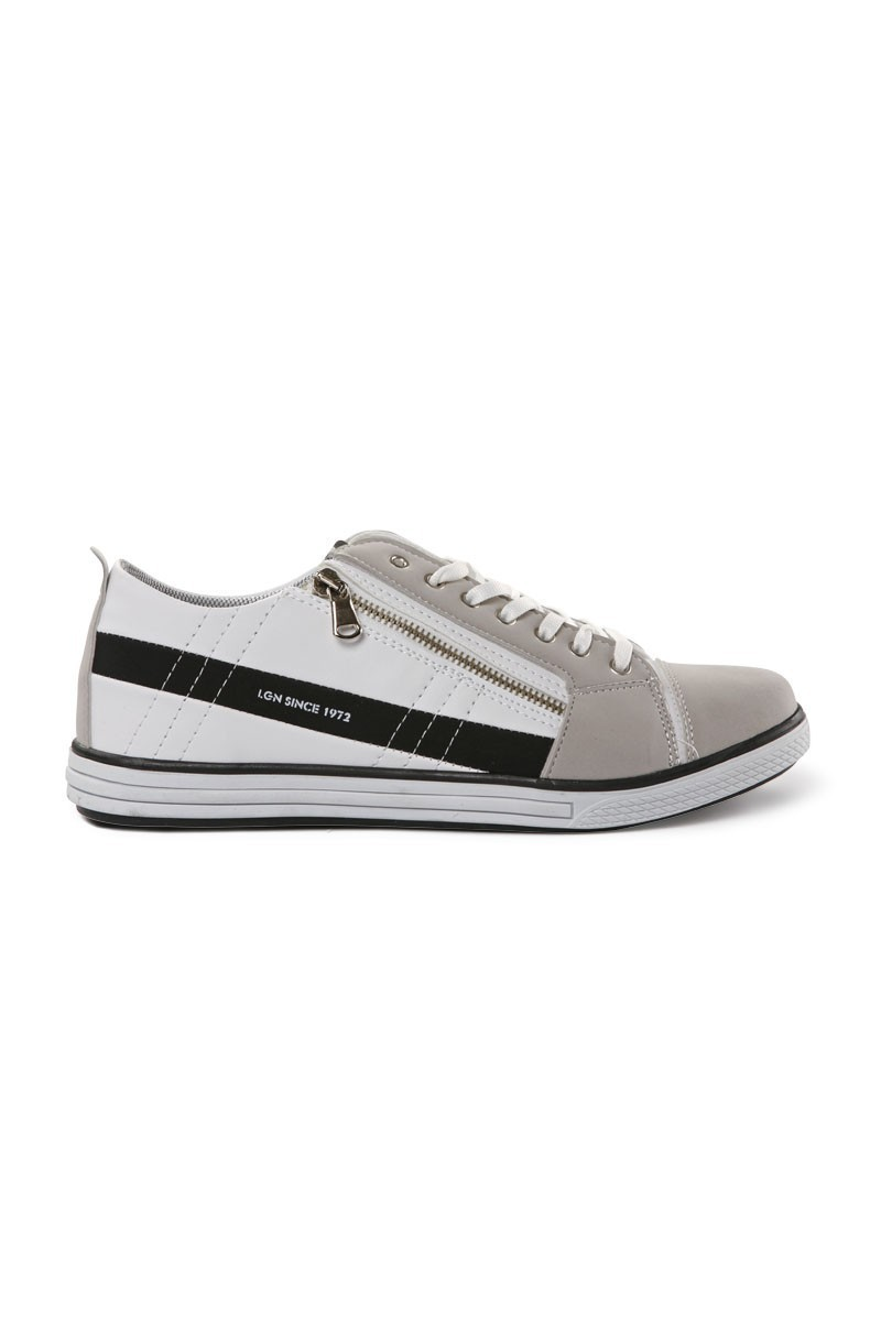 Laguna Beyaz-Siyah LGN-033 Erkek Ayakkabı