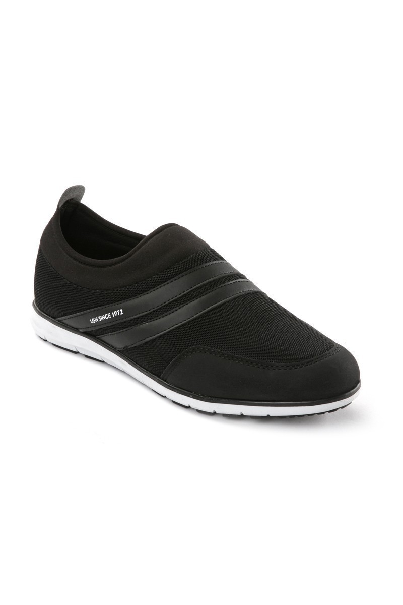 Laguna Siyah-Siyah LGN-607 Erkek Spor Ayakkabı