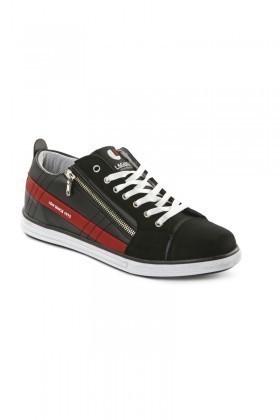 Laguna Siyah-Bordo LGN-033 Erkek Ayakkabı