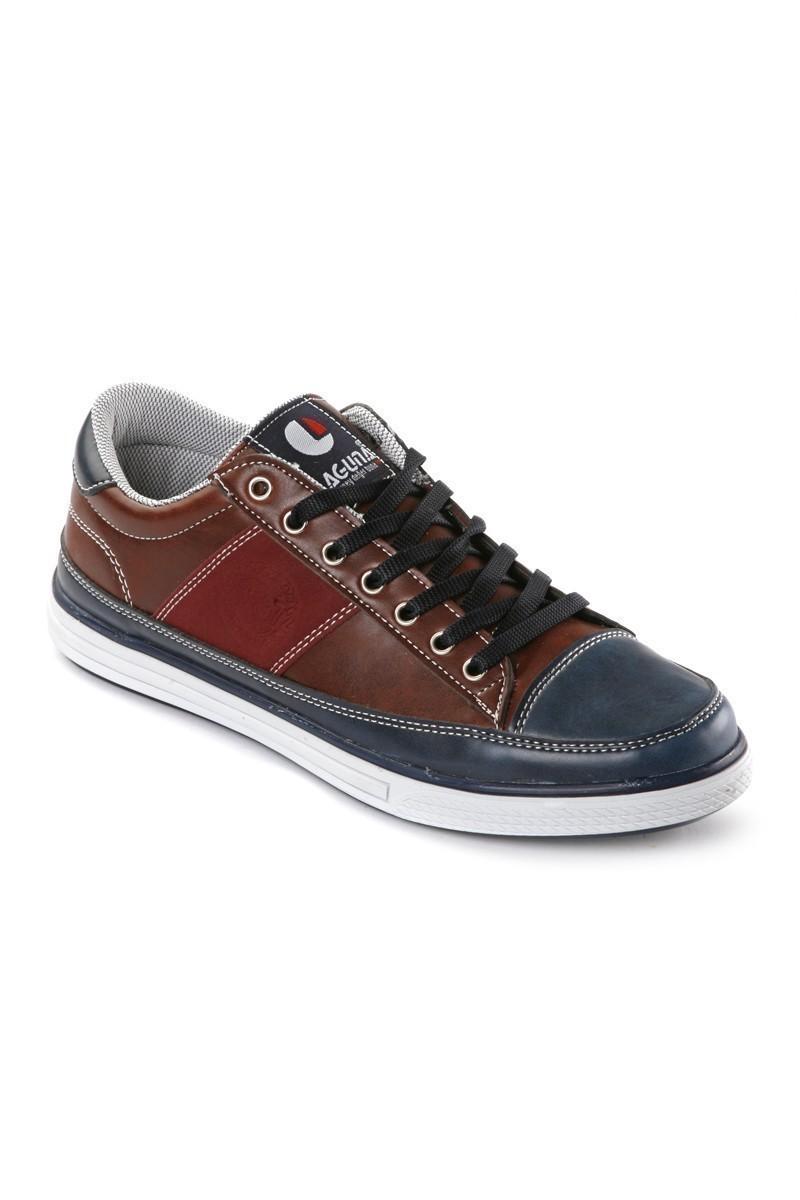 Laguna Bordo-Lacivert LGN-036 Erkek Ayakkabı