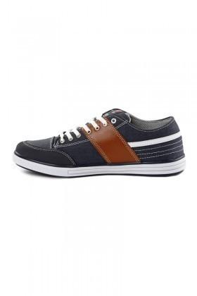Laguna Lacivert-Taba-Beyaz LGN-034 Erkek Ayakkabı