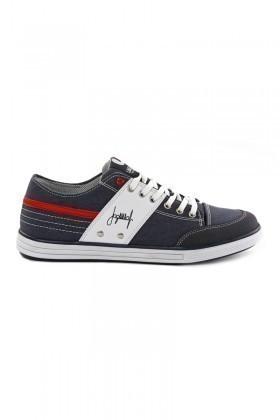 Laguna Lacivert-Kırmızı-Beyaz LGN-034 Erkek Ayakkabı