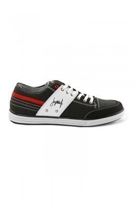 Laguna Füme-Beyaz-Kırmızı LGN-034 Erkek Ayakkabı