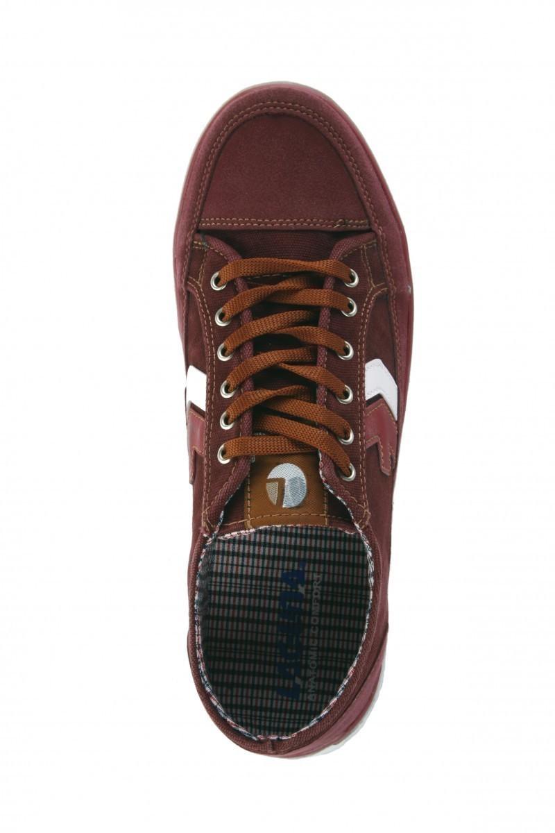 Laguna Bordo-Beyaz LGN-038 Erkek Ayakkabı