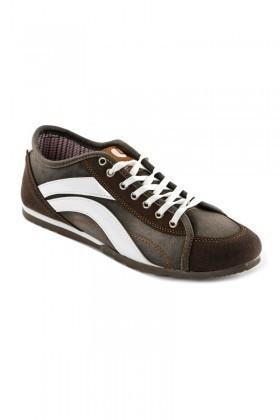 Laguna Kahverengi-Beyaz LGN-060 Erkek Ayakkabı