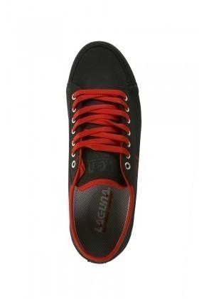Laguna Siyah-Kırmızı LGN-066 Erkek Ayakkabı