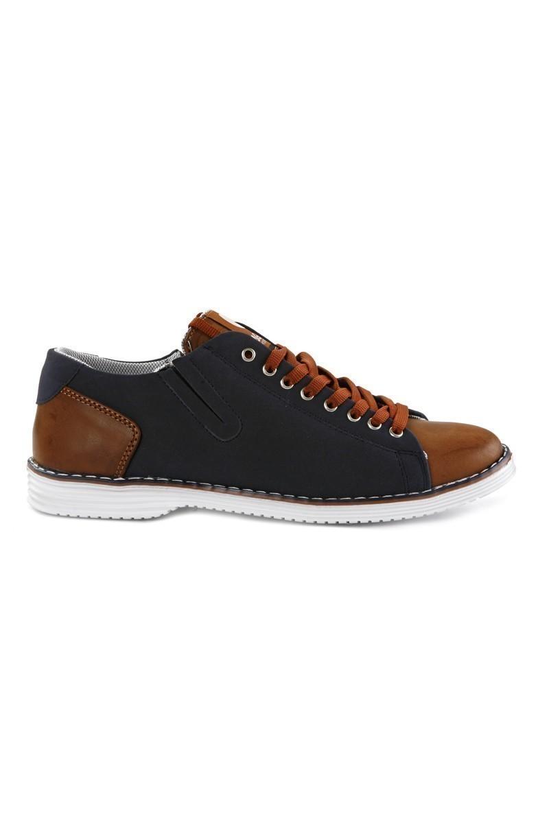 Laguna Lacivert-Taba LGN-052 Erkek Ayakkabı