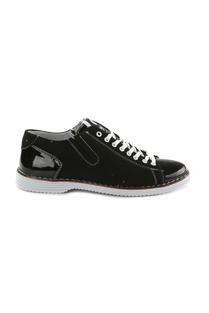 Laguna Siyah LGN-052-RUGAN Erkek Ayakkabı