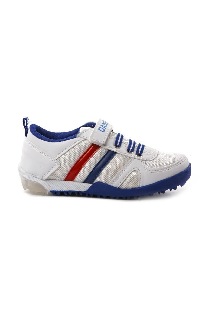 Danpe Beyaz-Saks-Mavi DNP-SE-PTK-962 Çocuk Ayakkabı