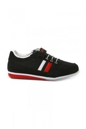 Danpe Siyah-Kırmızı DNP-SE-FLT-981 Çocuk Ayakkabı