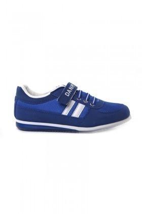 Danpe Saks-Mavi-Beyaz DNP-SE-FLT-981 Çocuk Ayakkabı