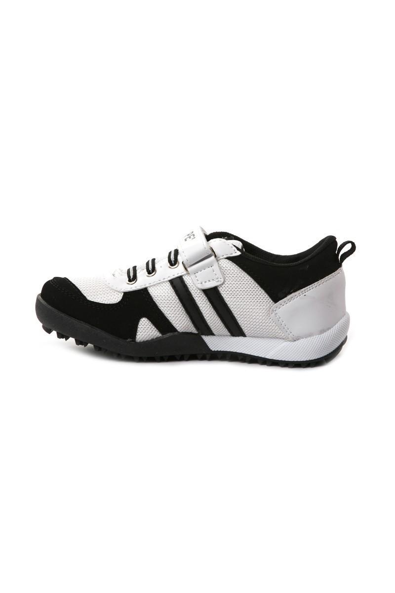 Danpe Beyaz-Siyah DNP-SE-FLT-952 Çocuk Ayakkabı