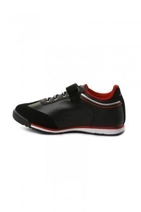 Danpe Siyah-Kırmızı DNP-SE-FLT-785 Çocuk Ayakkabı
