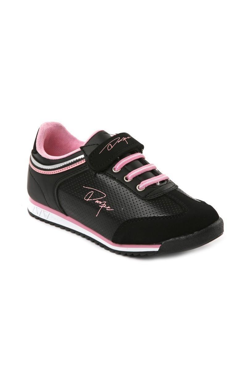 Danpe Siyah-Pembe DNP-SE-FLT-785 Çocuk Ayakkabı