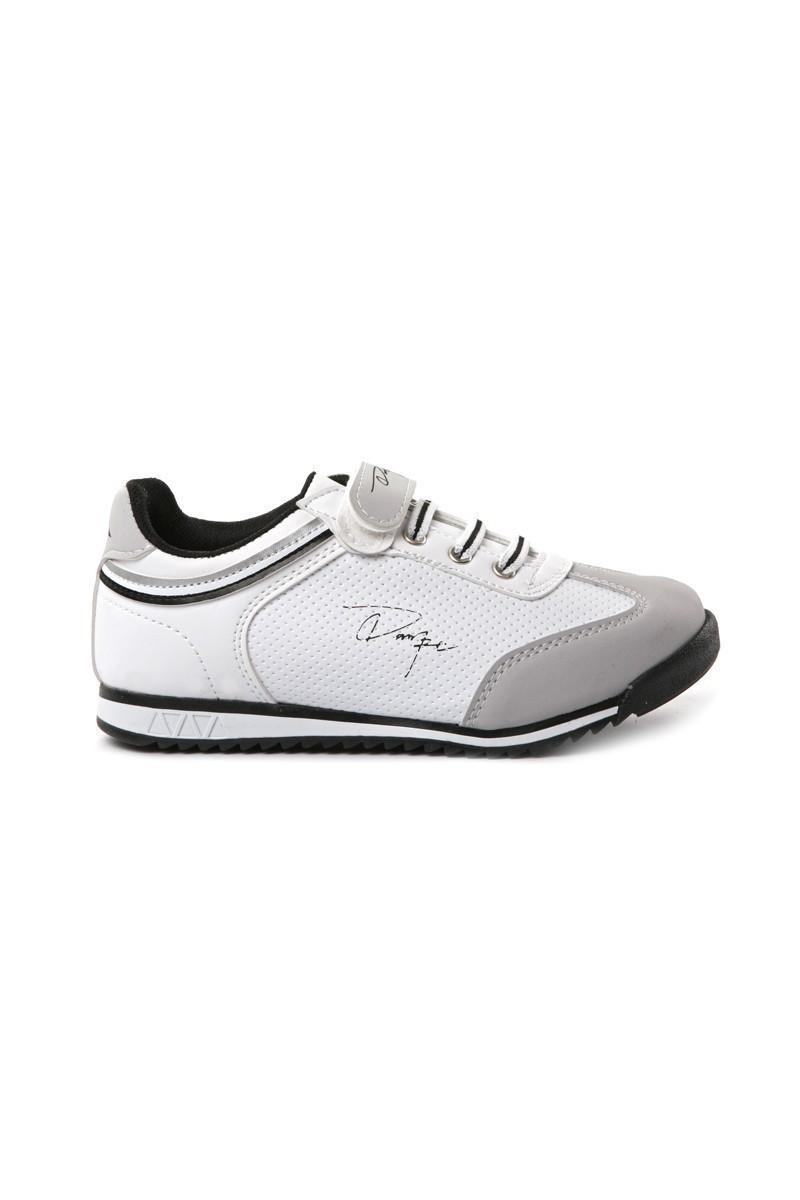 Danpe Beyaz-Siyah DNP-SE-FLT-785 Çocuk Ayakkabı