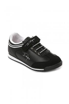 Danpe Siyah-Beyaz DNP-SE-FLT-785 Çocuk Ayakkabı