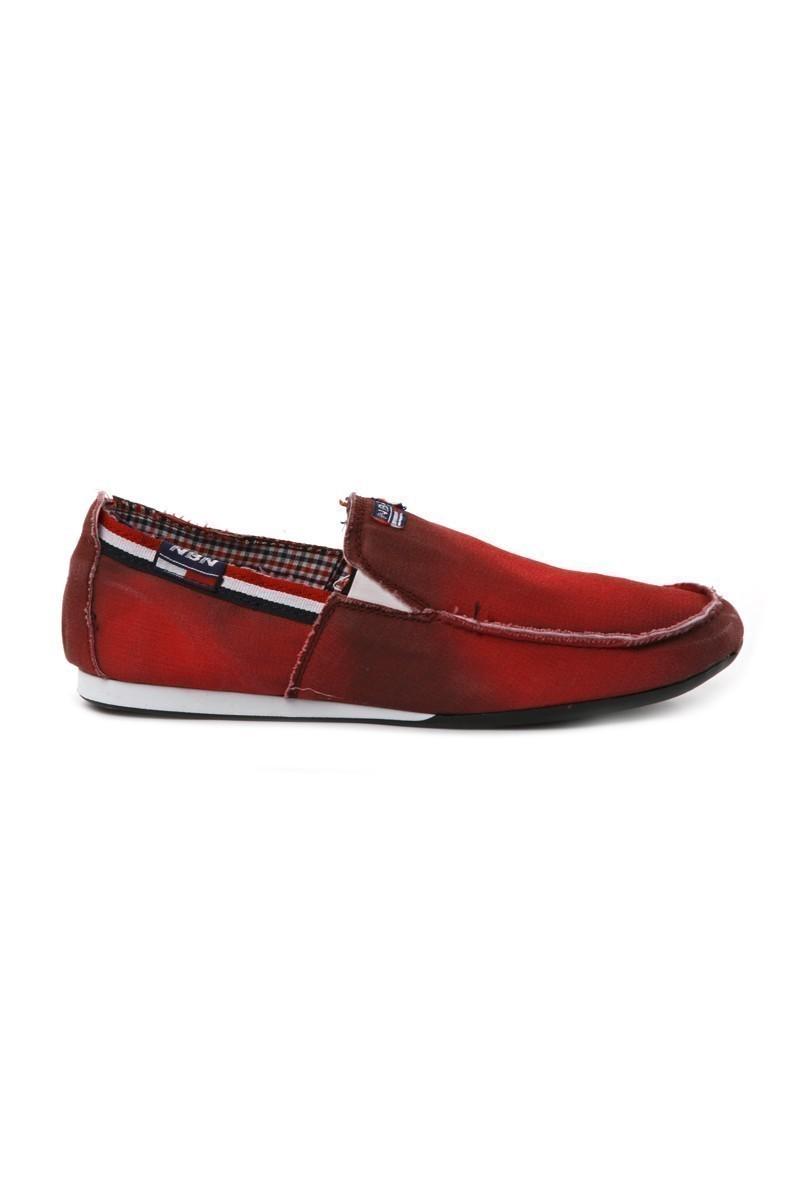 NBN Bordo NBN-80 Erkek Ayakkabı