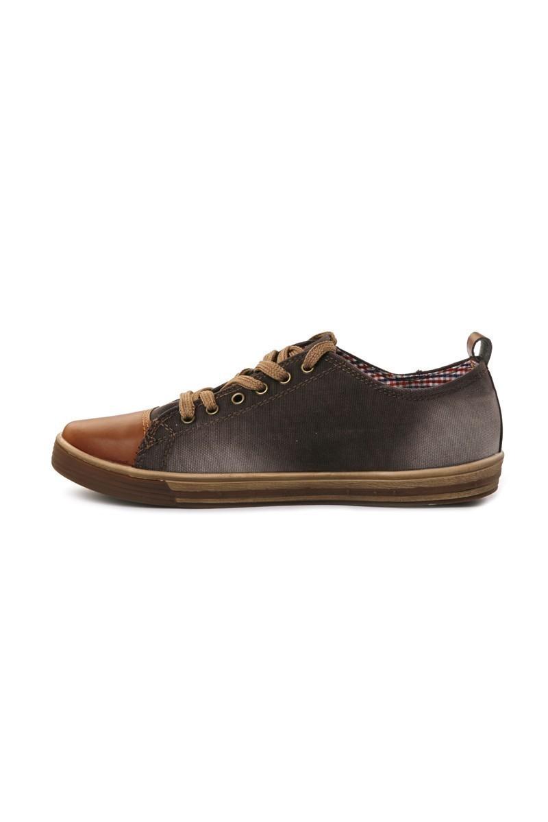 NBN Kahverengi NBN-88 Erkek Ayakkabı