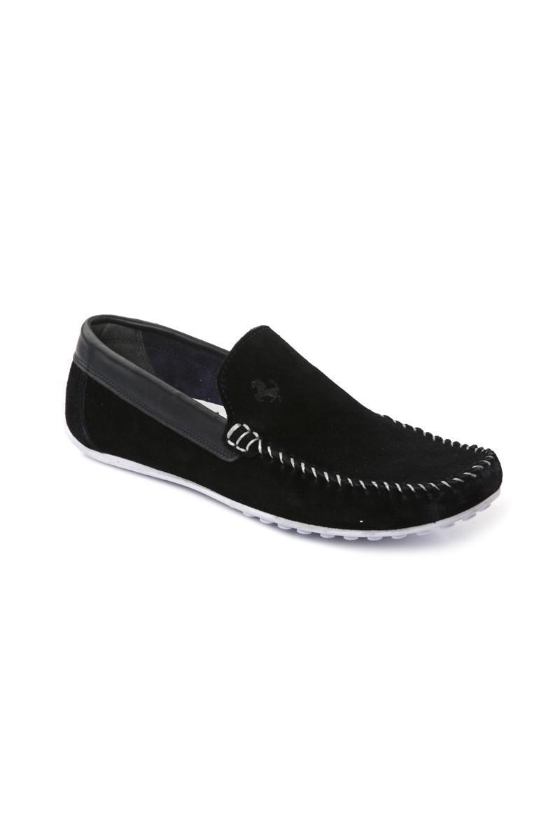 Pandew Koyu Lacivert PNDW-FR-SUET Hakiki Deri Erkek Ayakkabı