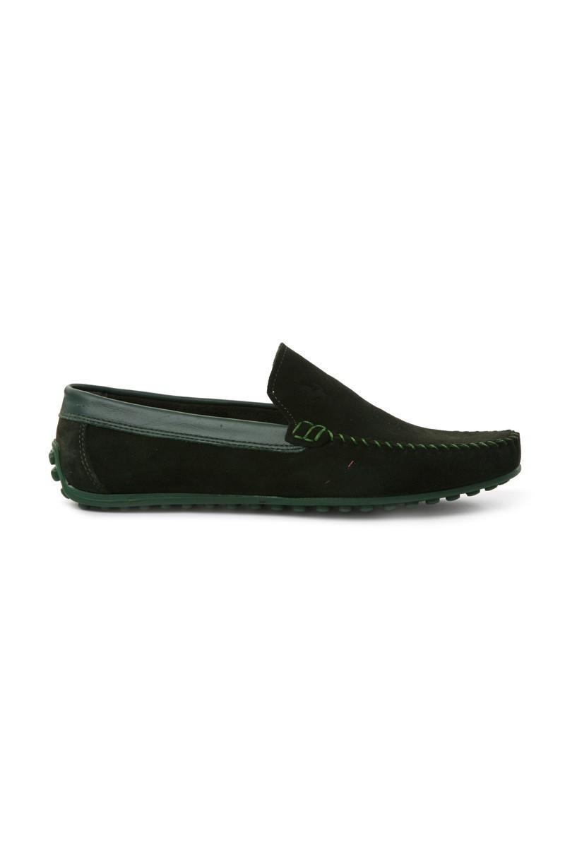 Pandew Yeşil PNDW-FR-SUET Hakiki Deri Erkek Ayakkabı