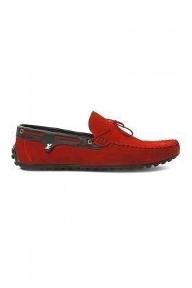 Pandew Kırmızı PNDW-FR-SUET-BAG Hakiki Deri Erkek Ayakkabı