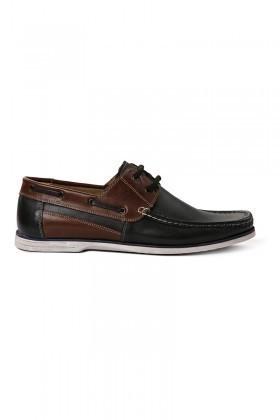 Pandew Siyah-Kahve PNDW-04-BAG Hakiki Deri Erkek Ayakkabı