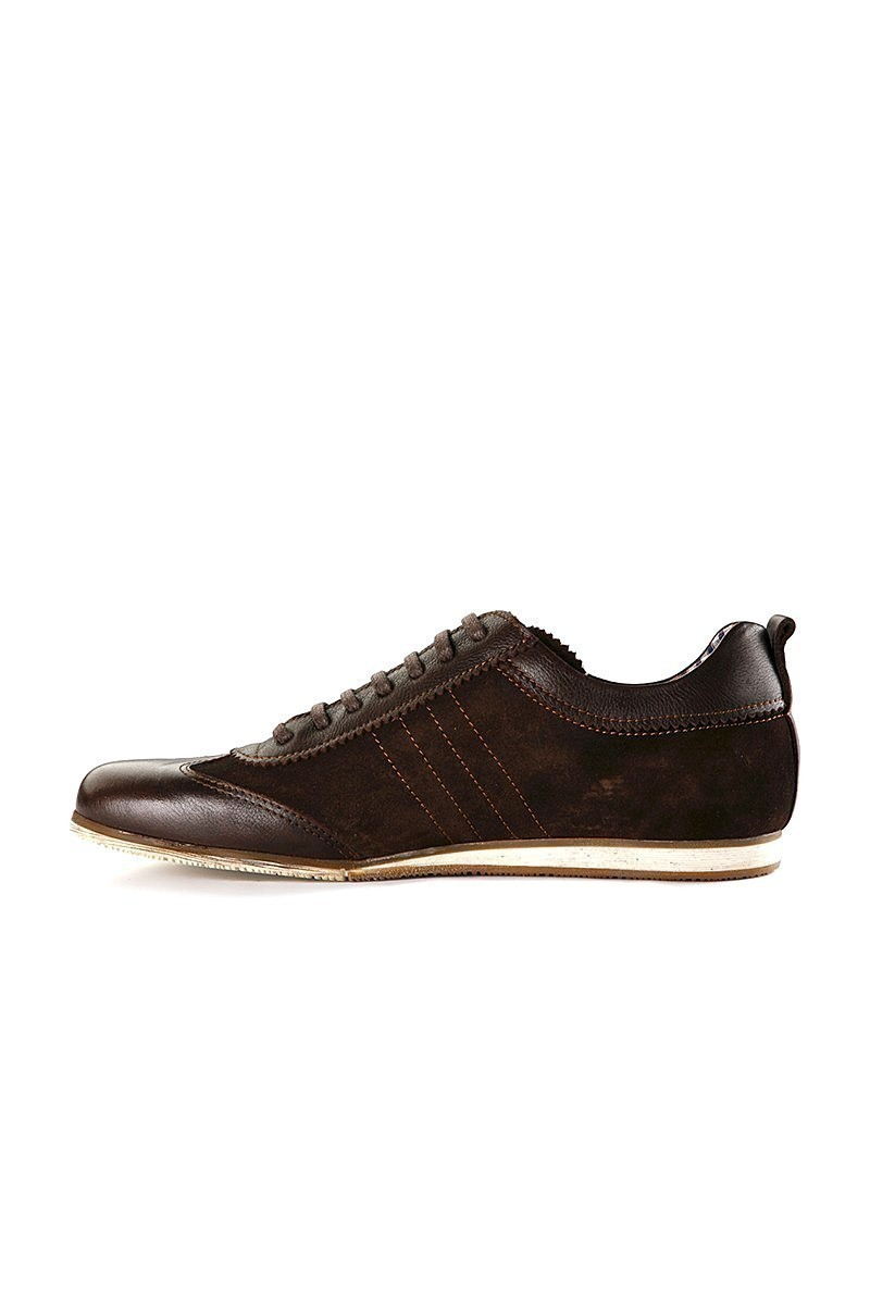 Pandew Kahverengi RMR-7080 Hakiki Deri Erkek Ayakkabı