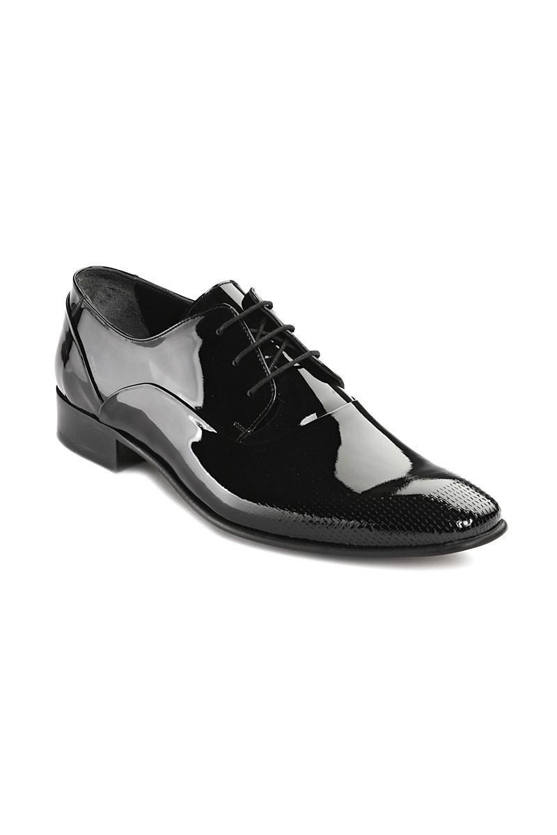 Lotex Siyah LTX-001 Erkek Rugan Ayakkabı