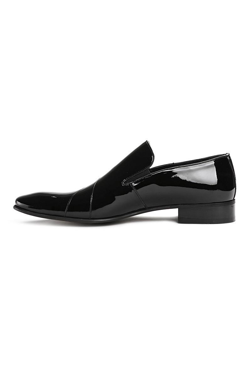 Lotex Siyah LTX-1599 Erkek Rugan Ayakkabı