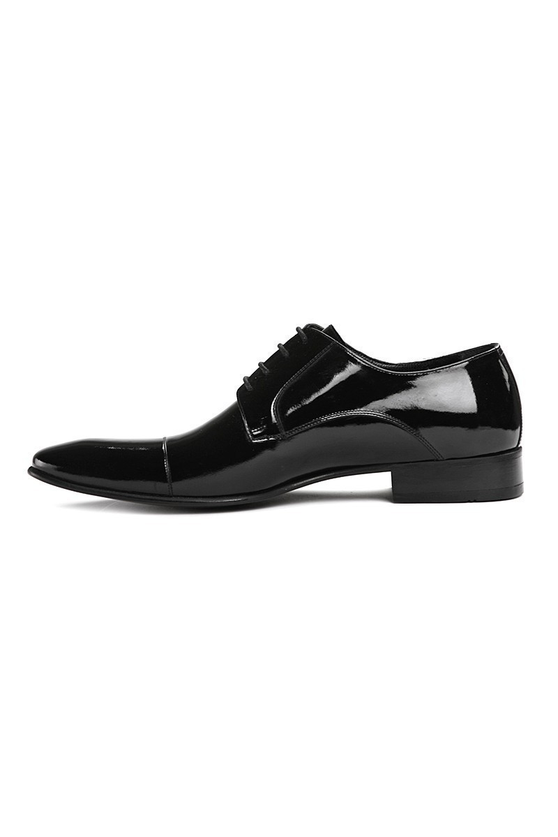 Lotex Siyah LTX-003 Erkek Rugan Ayakkabı