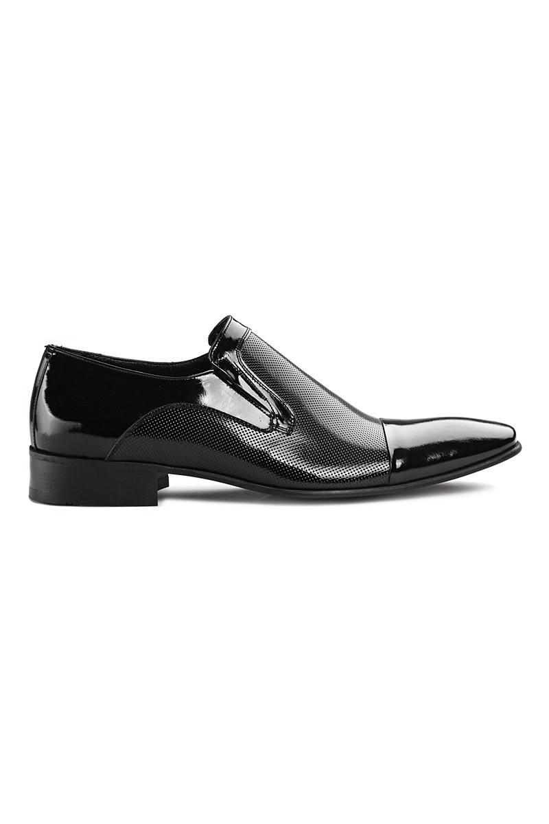 Lotex Siyah LTX-3817 Erkek Rugan Ayakkabı
