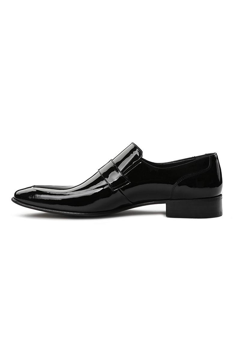 Lotex Siyah LTX-006 Erkek Rugan Ayakkabı