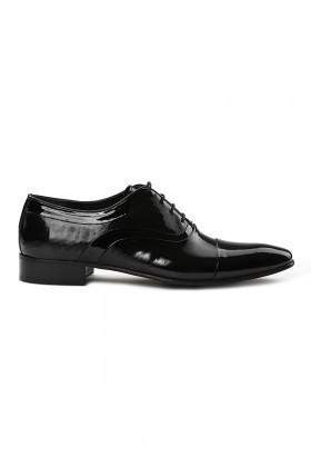 Lotex Siyah LTX-007 Erkek Rugan Ayakkabı