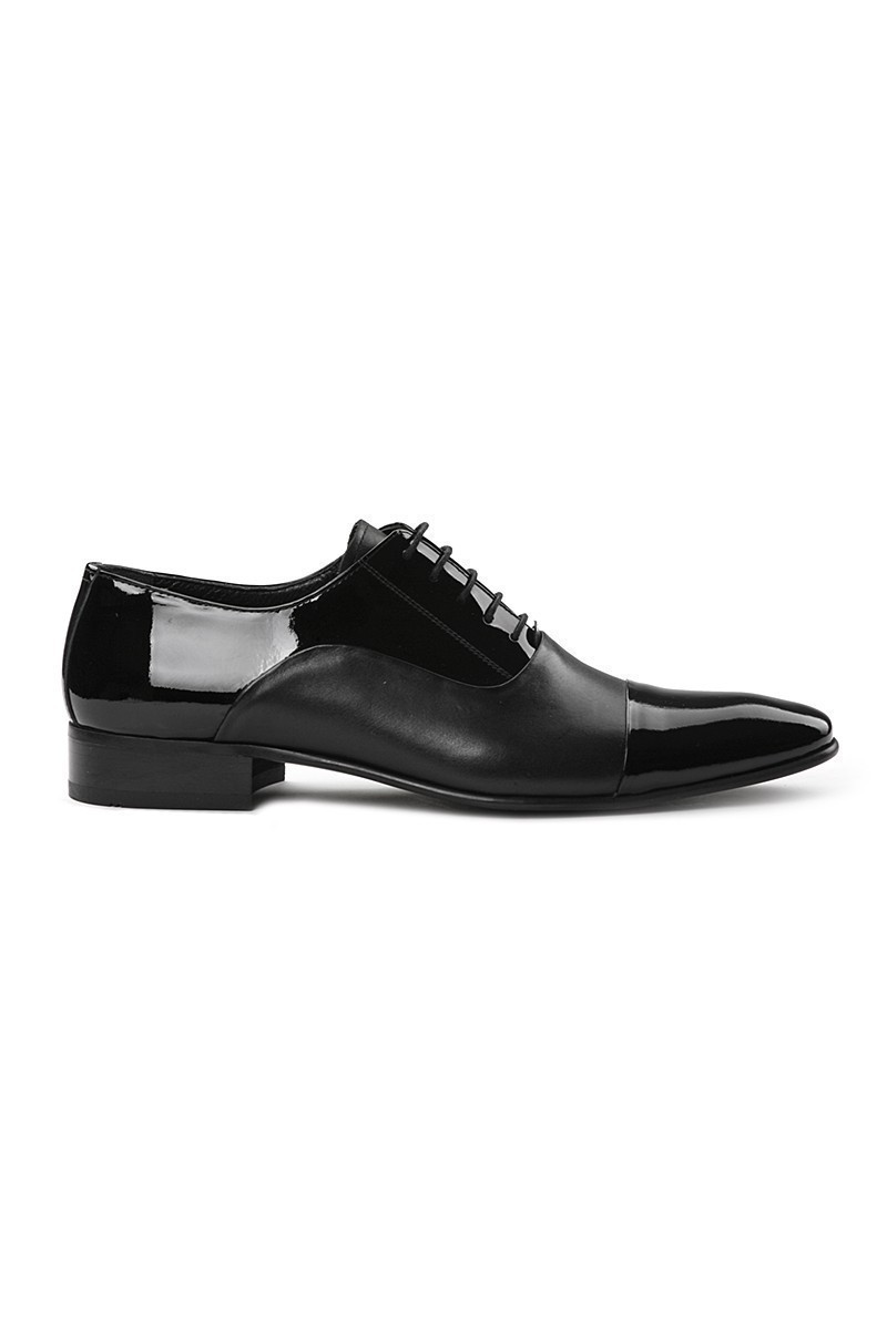 Lotex Siyah LTX-5541 Erkek Rugan Ayakkabı