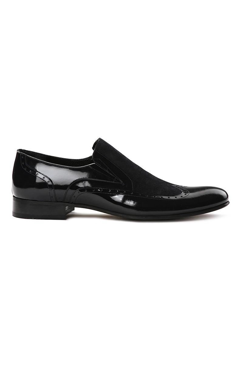 Lotex Siyah LTX-6330 Erkek Rugan Ayakkabı