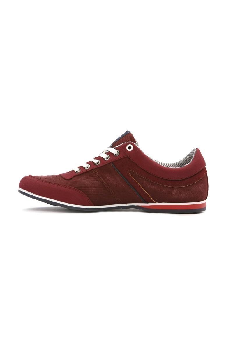 LA POLO Bordo LPL-1504 Erkek Ayakkabı