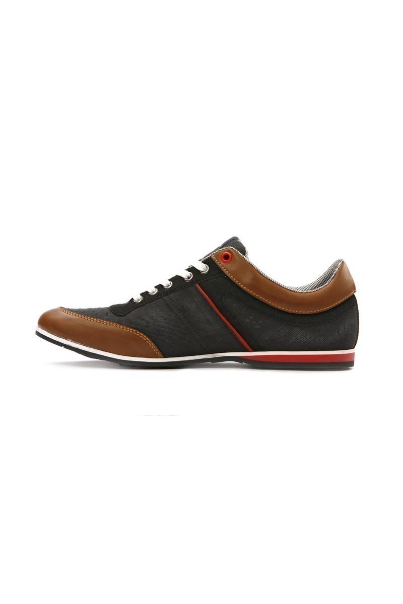 LA POLO Siyah-Taba LPL-1504 Erkek Ayakkabı