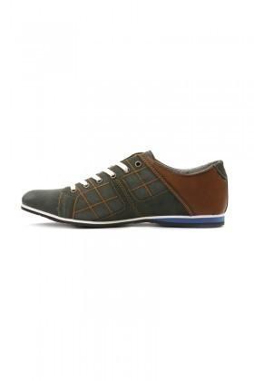 LA POLO Yeşil-Taba LPL-1505 Erkek Ayakkabı