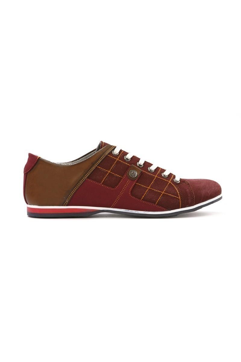 LA POLO Bordo-Taba LPL-1505 Erkek Ayakkabı