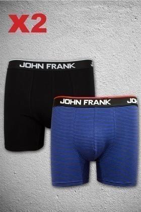 John Frank JF2B12 Erkek Boxer 2li Paket
