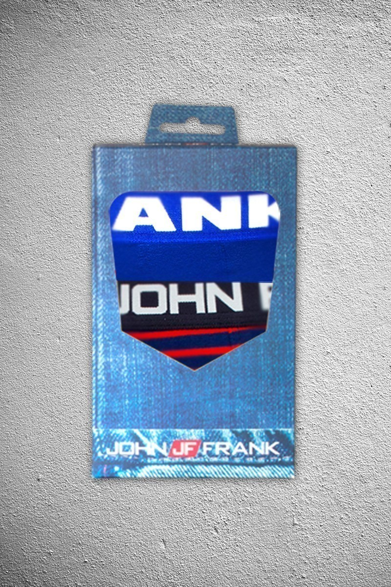 John Frank JF2B3 Erkek Boxer 2li Paket
