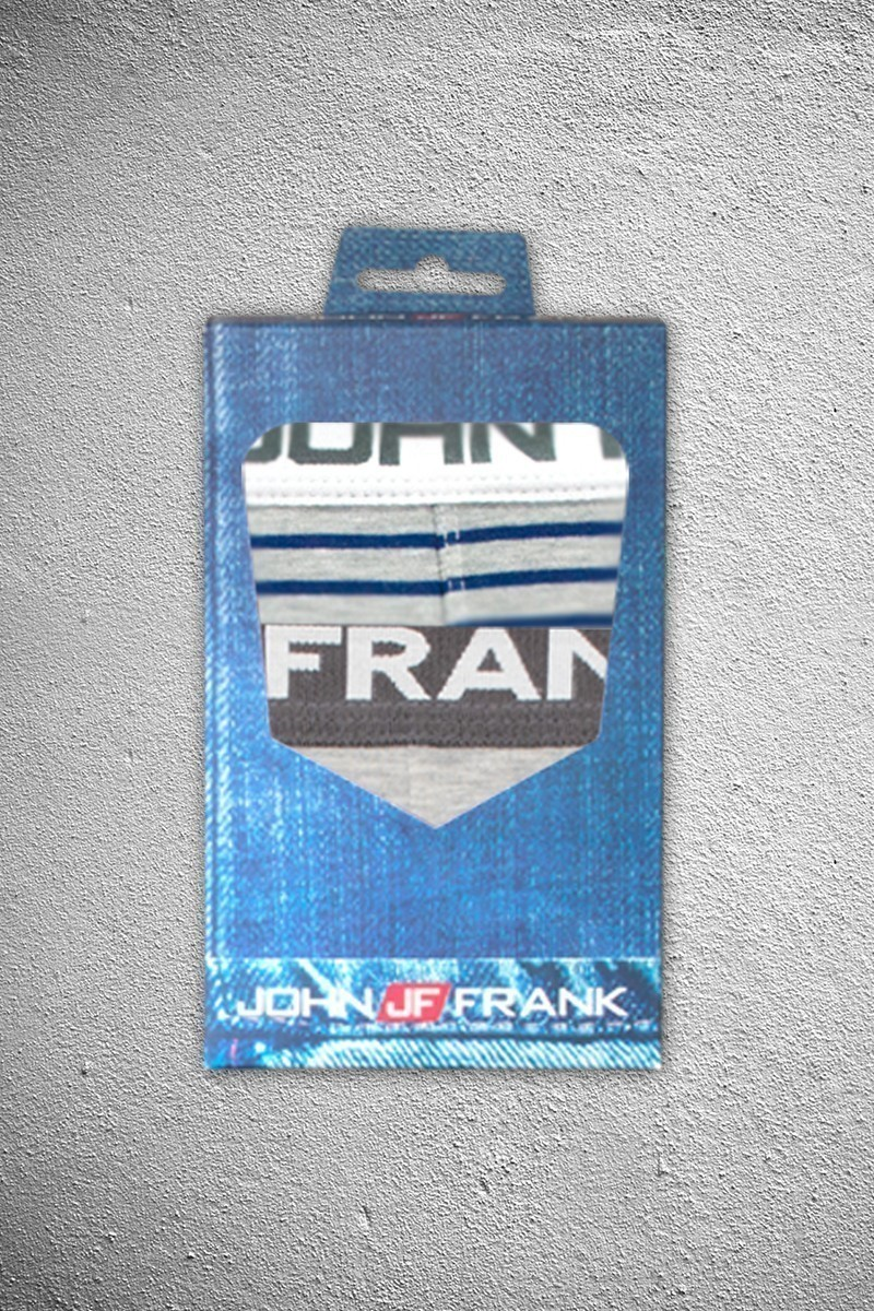 John Frank JF2B4 Erkek Boxer 2li Paket