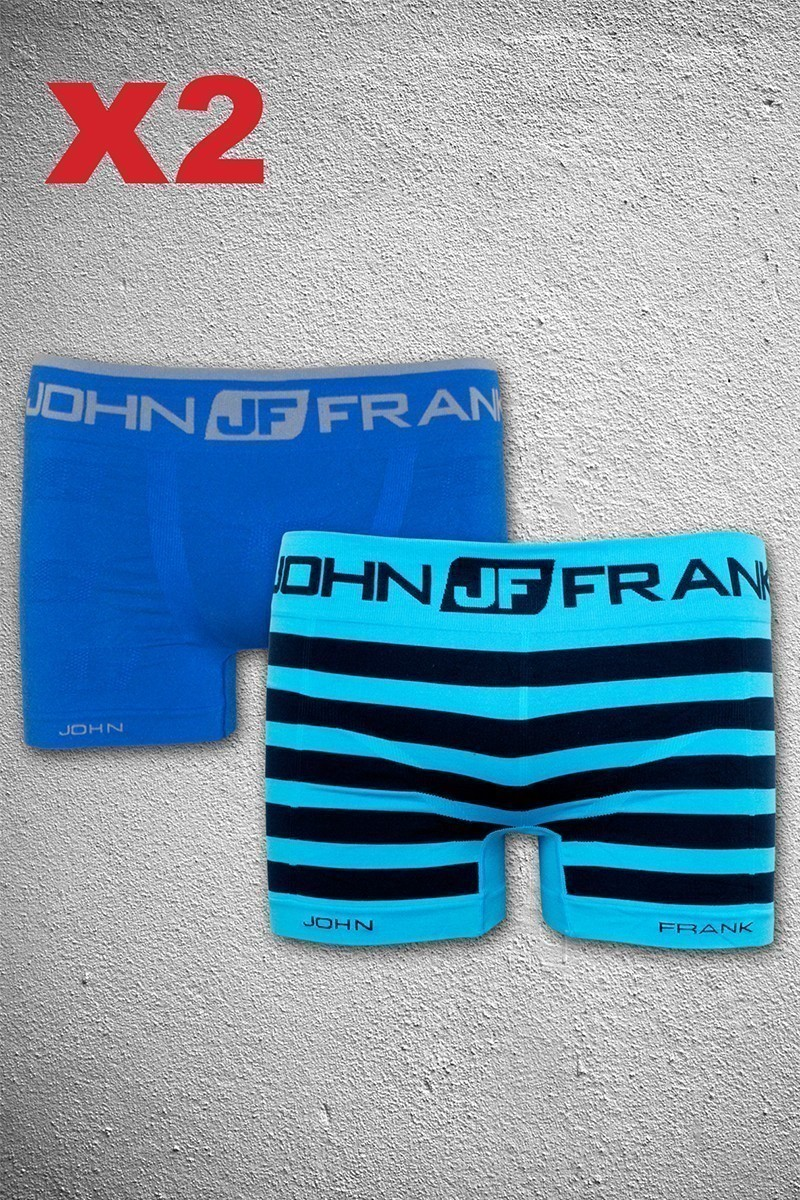 John Frank JF2B9 Erkek Boxer 2li Paket