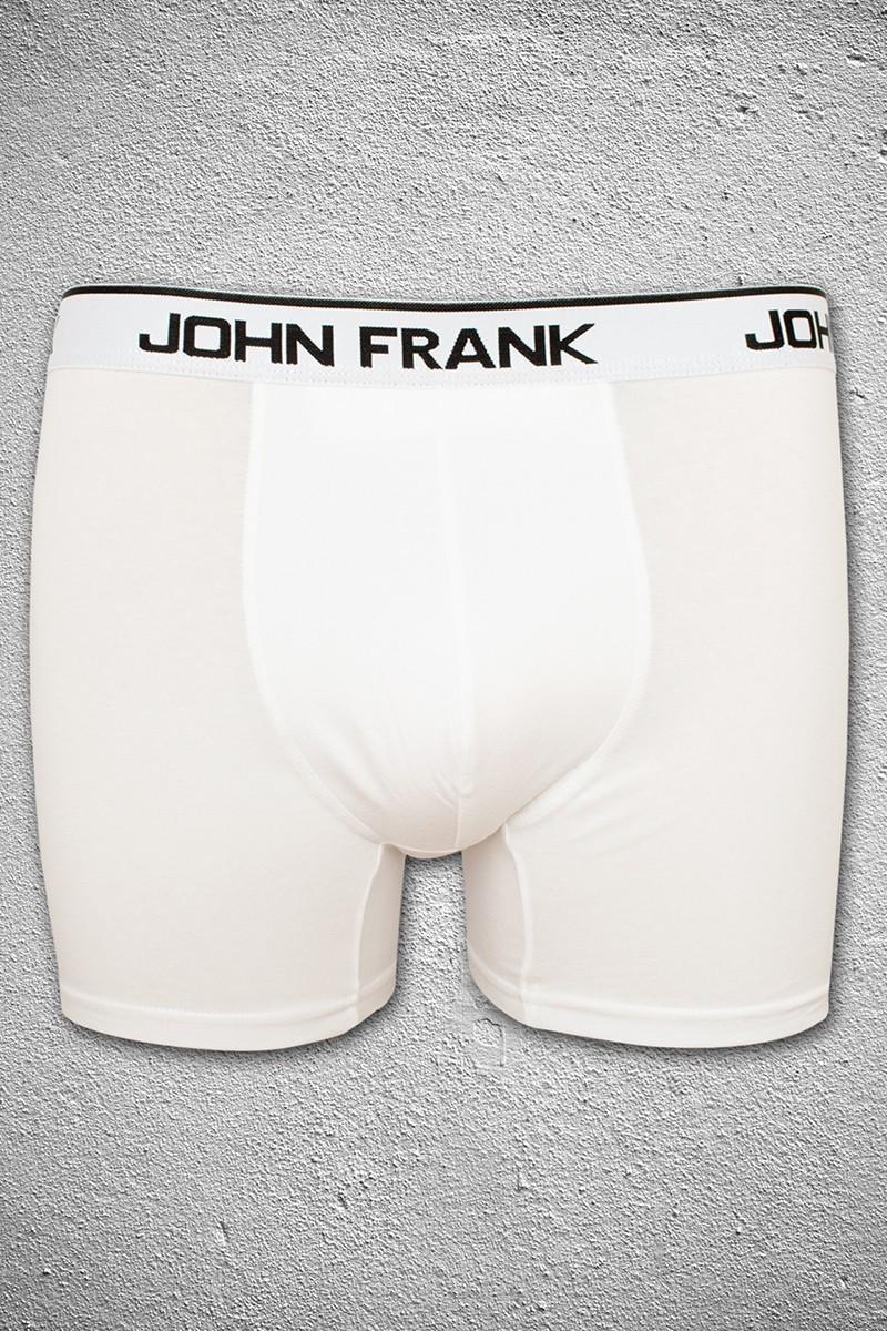 John Frank Beyaz JFB1BEYAZ Erkek Boxer
