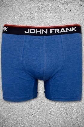 John Frank Mavi JFB1MAVIMELANJ Erkek Boxer