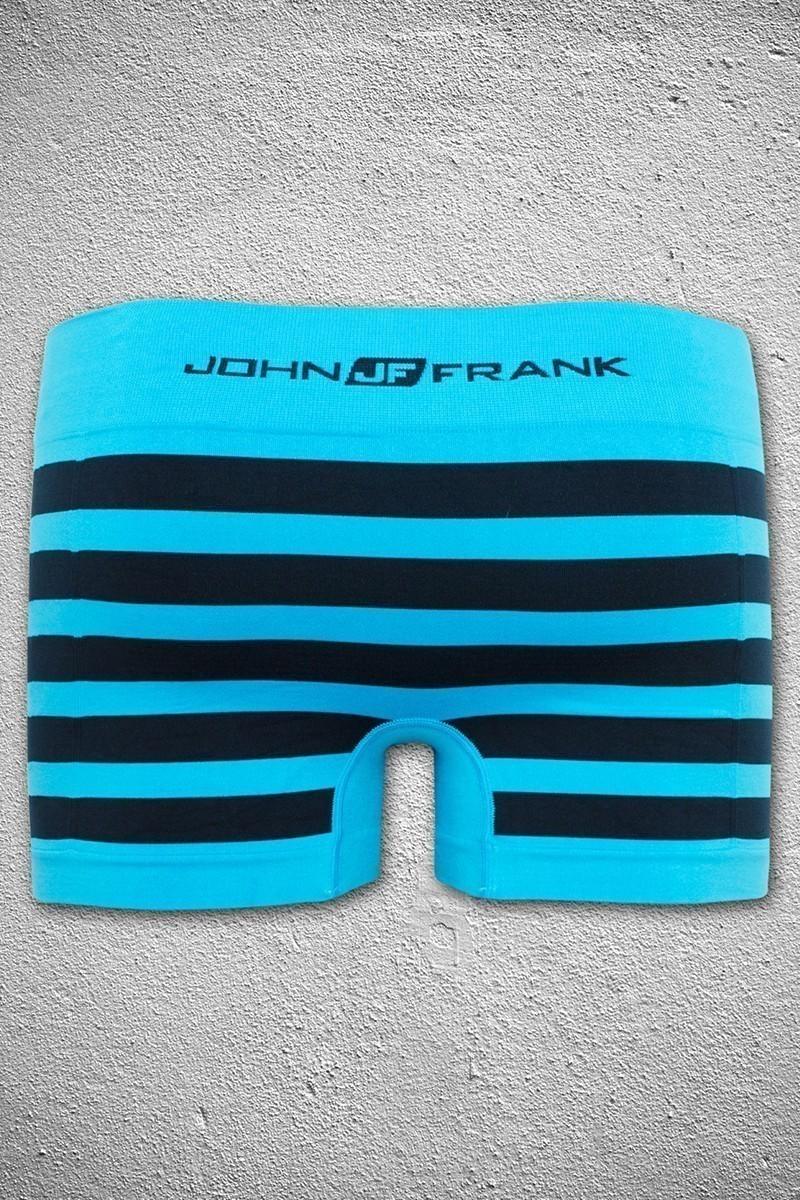 John Frank Turkuaz-Siyah JFB23TURKUAZ-SIYAH Erkek Boxer